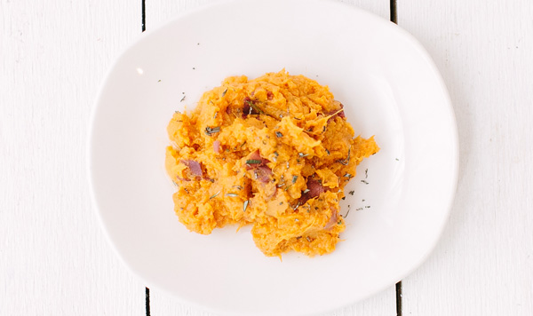 Rosemary Sweet Potato Mash