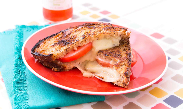Grilled Tomato+Cheese